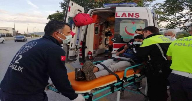 Menteşede Trafik Kazası: 1 Yaralı