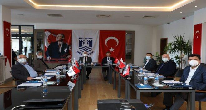 Muğla'nın CHP'li belediye başkanları bir araya geldi
